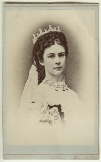 Elisabeth, Empress of Austria, by Emil Rabending - NPG x5815