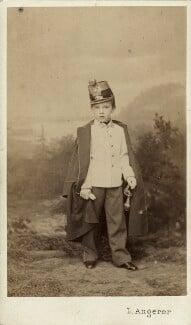 Prince Rudolf, Archduke of Austria, by Ludwig Angerer - NPG x5823