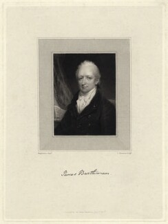 James Bartleman, by James Thomson (Thompson), after  Thomas Hargreaves - NPG D21486