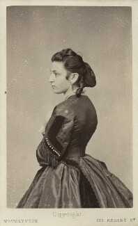 Caroline von Gomperz-Bettelheim, by United Association of Photography Limited - NPG x7891