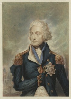 Horatio Nelson, by George Baxter, after  Lemuel Francis Abbott - NPG D21491