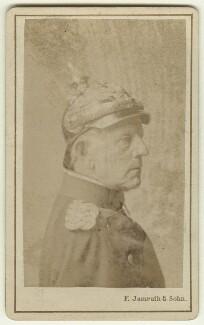 Helmuth Karl Bernhard von Moltke, Count von Moltke, by F. Jamrath & Son - NPG x74628