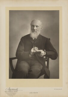 William Thomson, Baron Kelvin, by Herbert Rose Barraud, published by  Eglington & Co - NPG Ax27635