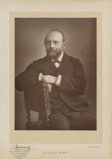 Sir Joseph Barnby, by Herbert Rose Barraud, published by  Eglington & Co - NPG Ax27636