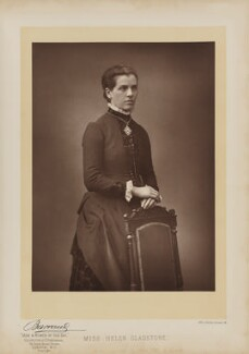 Helen Gladstone, by Herbert Rose Barraud, published by  Eglington & Co, published 1893 - NPG Ax27646 - © National Portrait Gallery, London