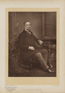 Sir (Francis) Leopold McClintock, by Mayall & Co, published by  Eglington & Co - NPG Ax27651