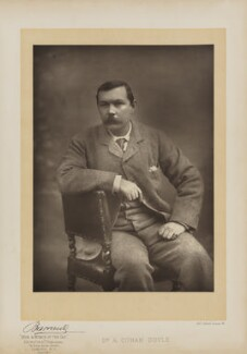Arthur Conan Doyle, by Herbert Rose Barraud, published by  Eglington & Co, published 1893 - NPG Ax27656 - © National Portrait Gallery, London