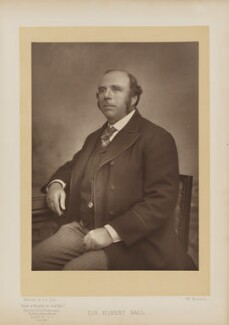 Sir Robert Stawell Ball, by Mayall & Co, published by  Eglington & Co - NPG Ax27659