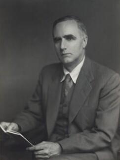 Sir Edward Crisp Bullard, by Walter Stoneman - NPG x166225