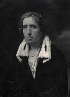 Dame Audrey Charlotte Georgiana Buller, by Walter Stoneman - NPG x166226