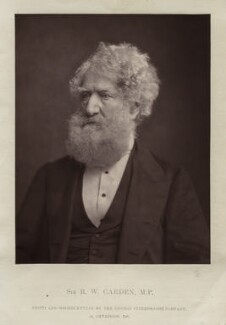 Sir Robert Walter Carden, 1st Bt, by London Stereoscopic & Photographic Company - NPG x128744