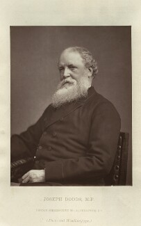 Joseph Dodds, by London Stereoscopic & Photographic Company - NPG x128745
