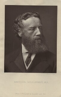 Robert James Loyd-Lindsay, Baron Wantage, after Elliott & Fry, 1870s-1880s - NPG x128747 - © National Portrait Gallery, London