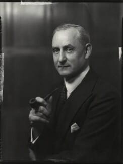 Sir Robert Charles Evans, by Bassano Ltd - NPG x151264