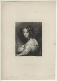 Elizabeth Rosamond Stanley (née Ward) when Mrs Stanhope, by Charles Theodosius Heath, after  François Theodore Rochard, or after  Simon Jacques Rochard - NPG D21493
