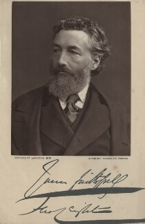 Frederic Leighton, Baron Leighton, by Unknown photographer, published 1879 - NPG x128752 - © National Portrait Gallery, London