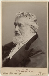 Frederic Leighton, Baron Leighton, by London Stereoscopic & Photographic Company - NPG x29177