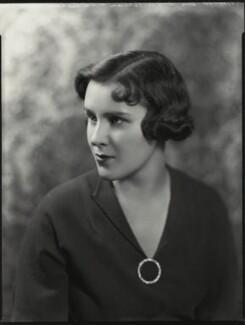Hon. Eileen Vivien O'Brien (née de la Poer Beresford), by Bassano Ltd - NPG x151268