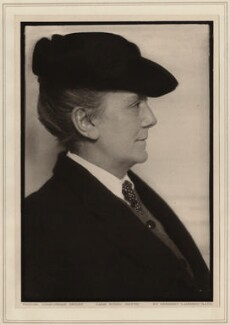 Dame Ethel Mary Smyth, by Herbert Lambert - NPG Ax7742