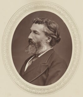 Frederic Leighton, Baron Leighton, by Lock & Whitfield, published by  Sampson Low, Marston, Searle and Rivington, published 1877 - NPG Ax17512 - © National Portrait Gallery, London
