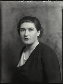 Hon. Lucy Agnes Vera Falkiner (née Verney-Cave), by Bassano Ltd - NPG x151272