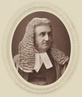 Sir Robert Joseph Phillimore, 1st Bt, by Lock & Whitfield, published by  Sampson Low, Marston, Searle and Rivington - NPG Ax17515