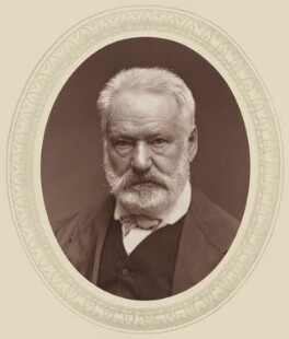 Victor Hugo, by Carjat & Co (Etienne Carjat), published by  Sampson Low, Marston, Searle and Rivington - NPG Ax17518