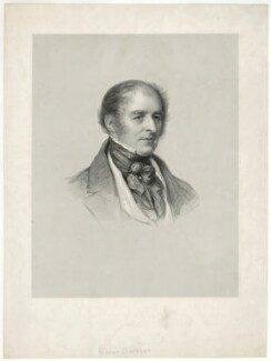 Sir Robert Bateson, 1st Bt, by Francis Holl, after  Károly (or Charles) Brocky - NPG D21502