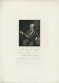 William Pulteney, 1st Earl of Bath, by William Henry Mote, published by  Harding & Lepard, after  Charles Jervas - NPG D21503