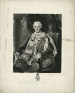 Thomas Thynne, 1st Marquess of Bath, by James Heath, after  Sir Thomas Lawrence - NPG D21505