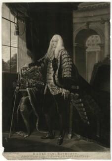 Henry Bathurst, 2nd Earl Bathurst, by Thomas Watson, after  David Martin - NPG D21506