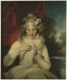 Georgina (née Lennox), Countess Bathurst, published by The Medici Society Ltd, after  Sir Thomas Lawrence - NPG D21509