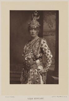 Sarah Bernhardt as Théodora in Sardou's play 'Théodora', by W. & D. Downey, published by  Cassell & Company, Ltd - NPG Ax14721