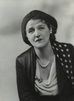 Victoria Jessamine Chatterton (née Merchant), by Bassano Ltd - NPG x85776