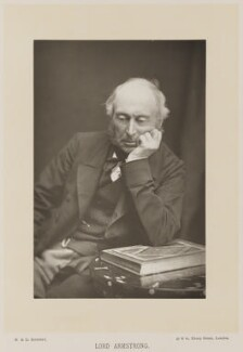 William George Armstrong, Baron Armstrong, by W. & D. Downey, published by  Cassell & Company, Ltd, published 1890 - NPG Ax14724 - © National Portrait Gallery, London