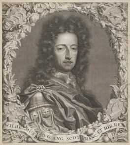 King William III, by Pieter Stevens van Gunst, after  Jan Henrik Brandon - NPG D21514
