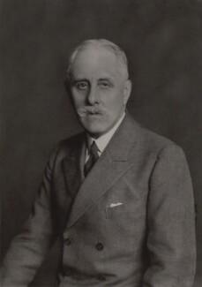 John Crichton-Stuart, 4th Marquess of Bute, by Walter Stoneman - NPG x28644