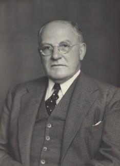 Sir Harold Beresford Butler, by Walter Stoneman - NPG x166288