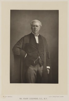 Sir Frank Lockwood, by W. & D. Downey, published by  Cassell & Company, Ltd - NPG Ax14735
