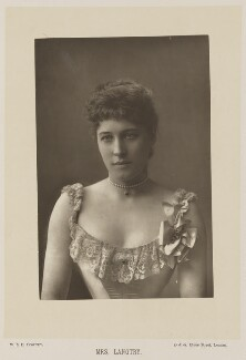 Lillie Langtry, by W. & D. Downey, published by  Cassell & Company, Ltd - NPG Ax14739