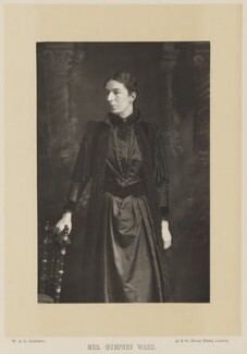 Mary Augusta Ward (née Arnold), by W. & D. Downey, published by  Cassell & Company, Ltd - NPG Ax14754
