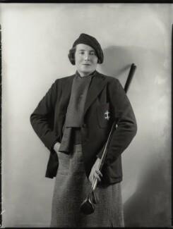 Elizabeth Adeline Mary Bligh, Baroness Clifton, by Bassano Ltd - NPG x151295
