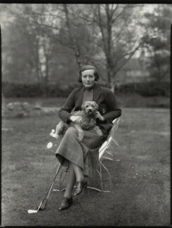 Elizabeth Adeline Mary Bligh, Baroness Clifton, by Bassano Ltd - NPG x151296