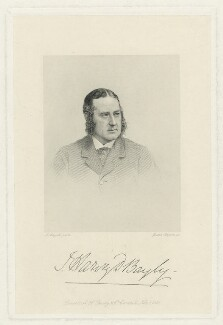 Thomas Harvey Dutton Bayly, by Joseph Brown, after  John Jabez Edwin Mayall - NPG D21520