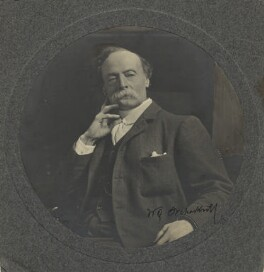 Sir William Quiller Orchardson, by E.H. Mills - NPG x12618
