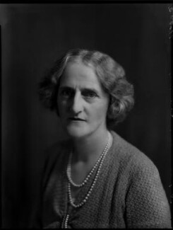 Lady Clare Mary Charlotte King (née Noel), by Bassano Ltd - NPG x151303