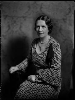 Margaret Wilkie (née Stott), Lady Bhore, by Bassano Ltd - NPG x151319