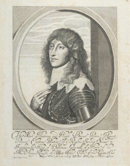 Prince Rupert, Count Palatine, after William Faithorne, after  Sir Anthony van Dyck - NPG D22926