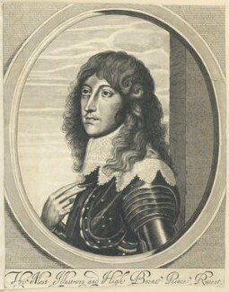 Prince Rupert, Count Palatine, after William Faithorne, after  Sir Anthony van Dyck - NPG D22927