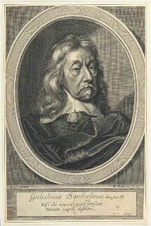 Sir William Sanderson, by William Faithorne, after  Gilbert Soest - NPG D22931